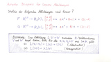 Aufgabe 1: Beispiele für lineare Abbildungen
