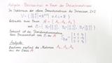 Aufgabe 6: Basiswechsel im Raum der Dreiecksmatrizen