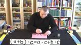 Distributivgesetz – Beispiel (3)