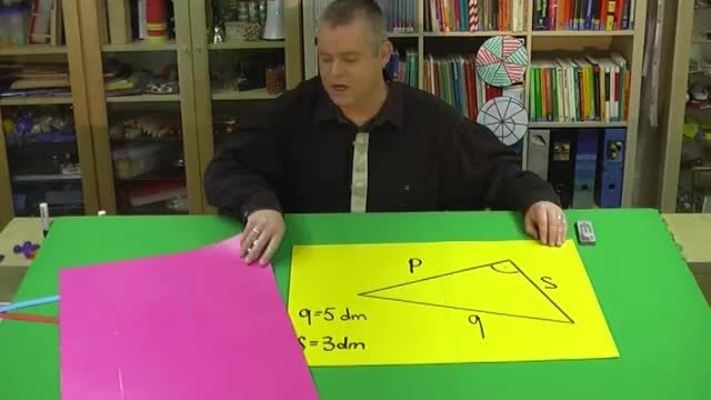 Satz des Pythagoras – Aufgabe 2 mit Variablen