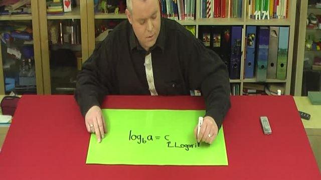 Logarithmus – Bezeichnungen