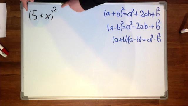 Binomische Formeln – Übung (1)