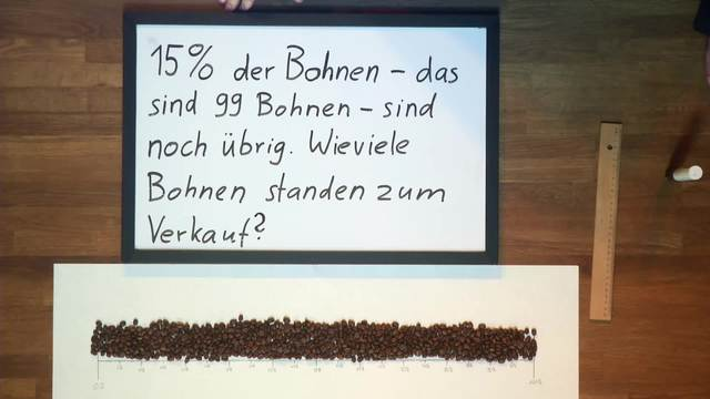 Prozentrechnung - Kaffeebohnenverkäufer 2