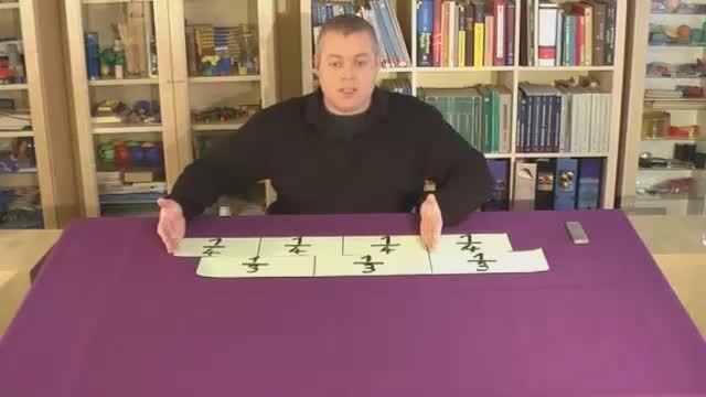 Brüche subtrahieren – Einführung (2)