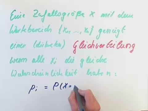 Laplace-Experimente – Gleichverteilung