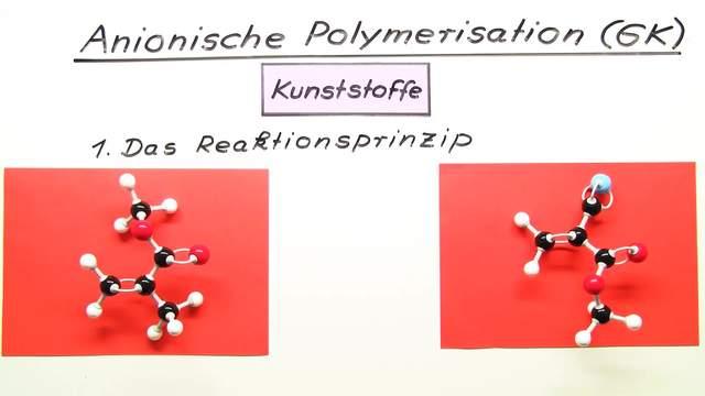 Anionische Polymerisation (Vertiefungswissen)