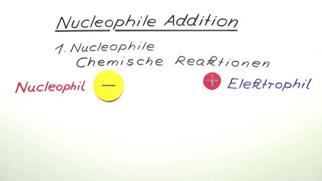 Nucleophile Addition