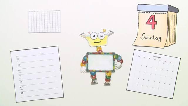 Kalender: Tage, Wochen, Monate, Jahre
