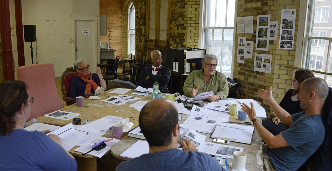 Driving Miss Daisy rehearsals