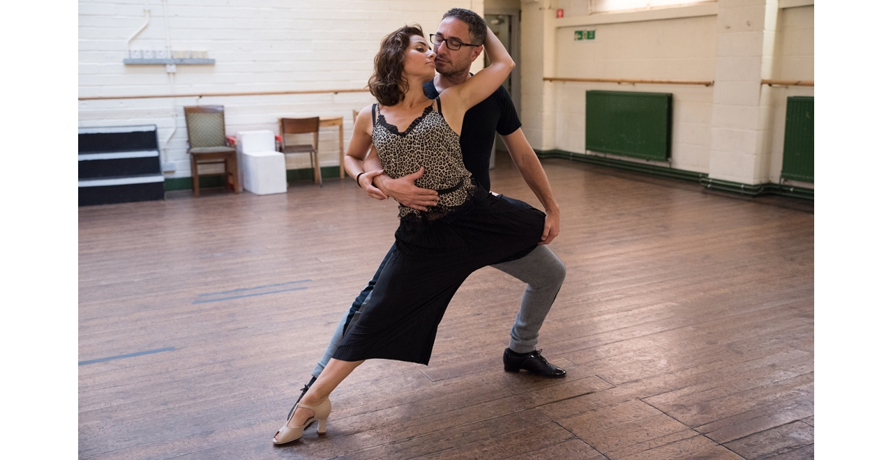 Vincent Simone & Flavia Cacace. Photo by Joe Twigg