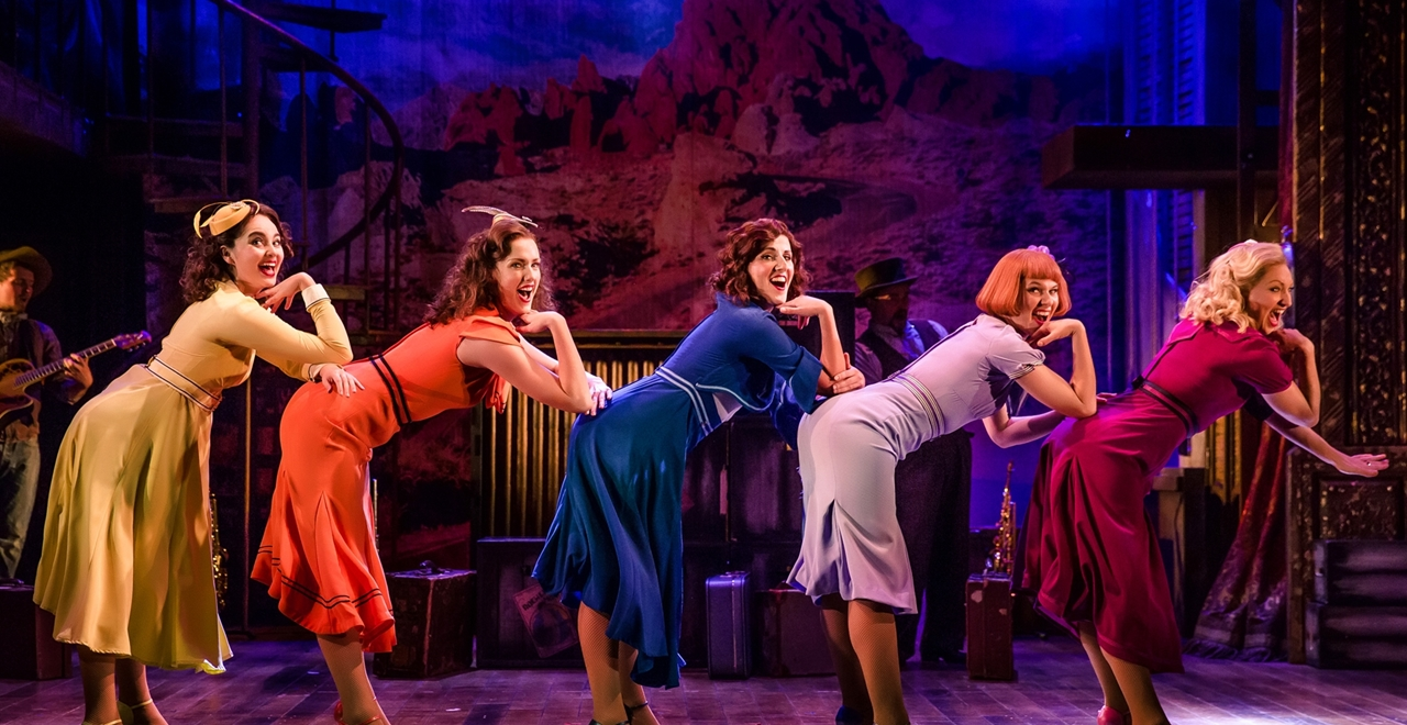 Crazy for You. Photo by Richard Davenport
