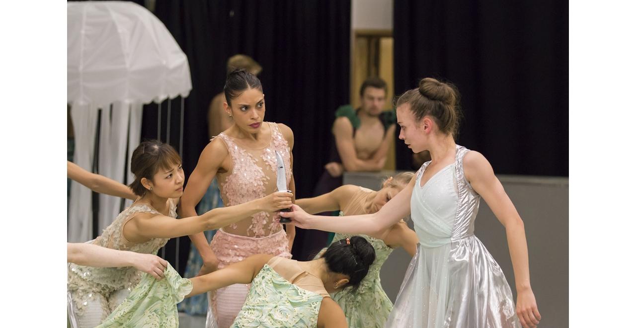 The Little Mermaid - in Rehearsal