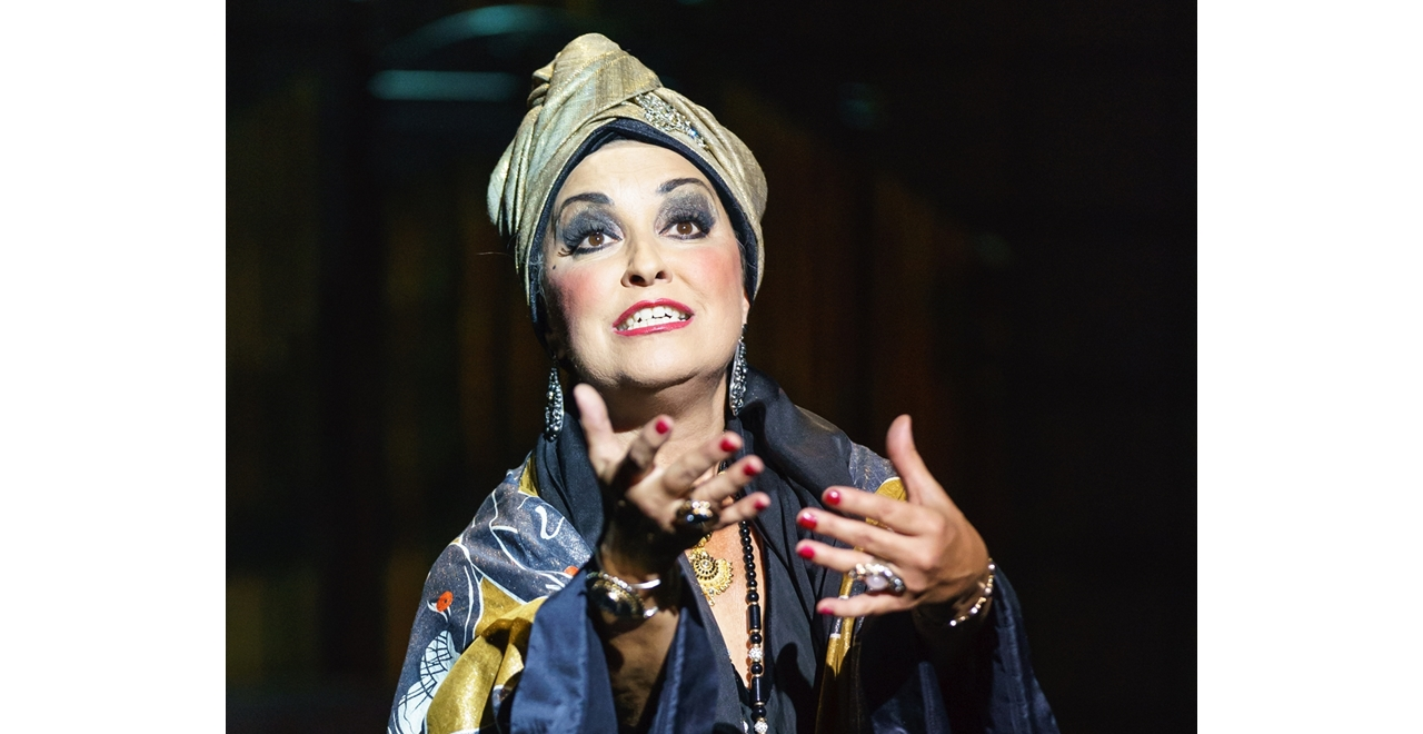 Ria Jones 'Norma Desmond'. Photo by Manuel Harlan