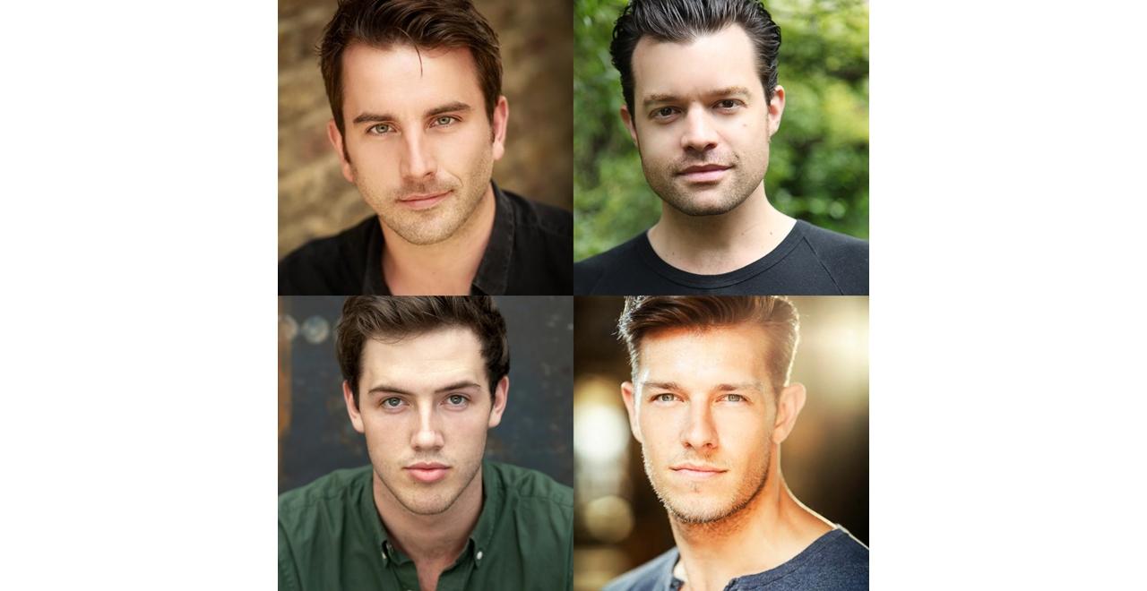 (clockwise) Michael Watson, Simon Bailey, Lewis Griffiths and Declan Egan