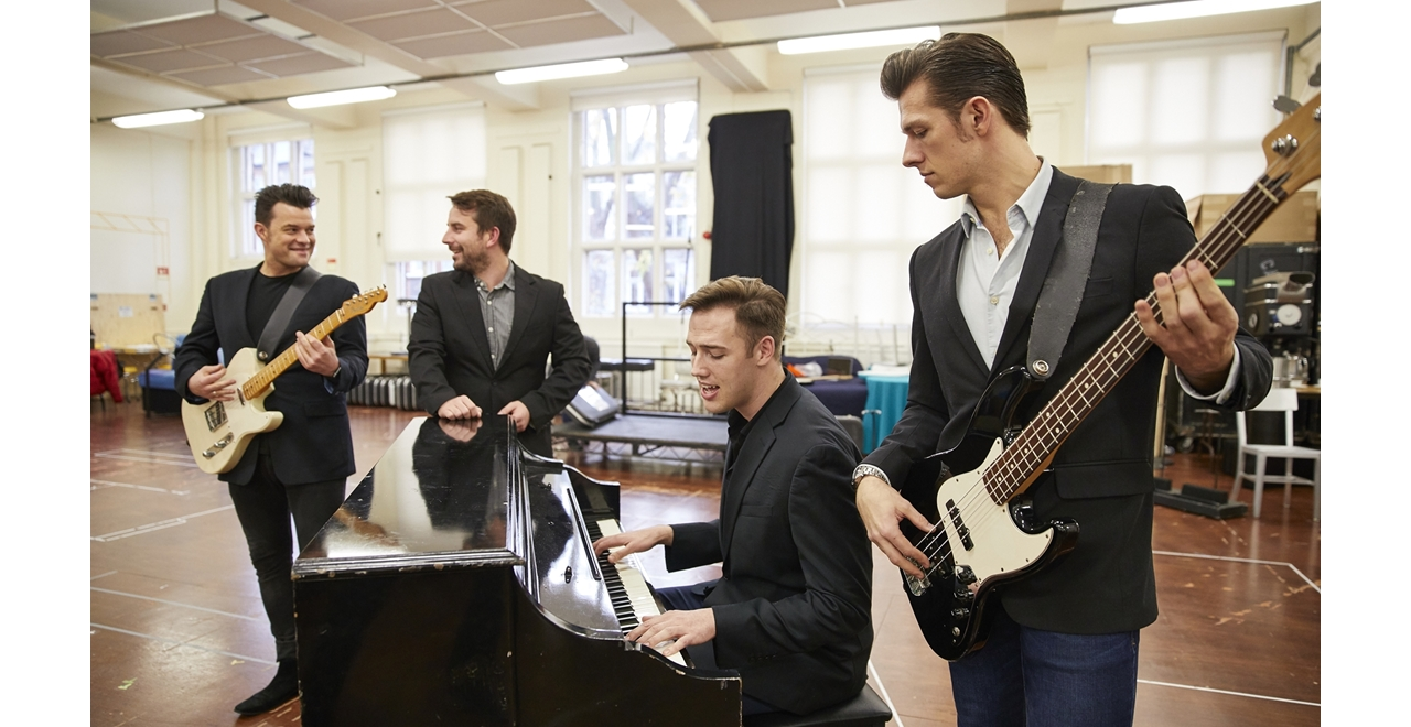 Jersey Boys rehearsals