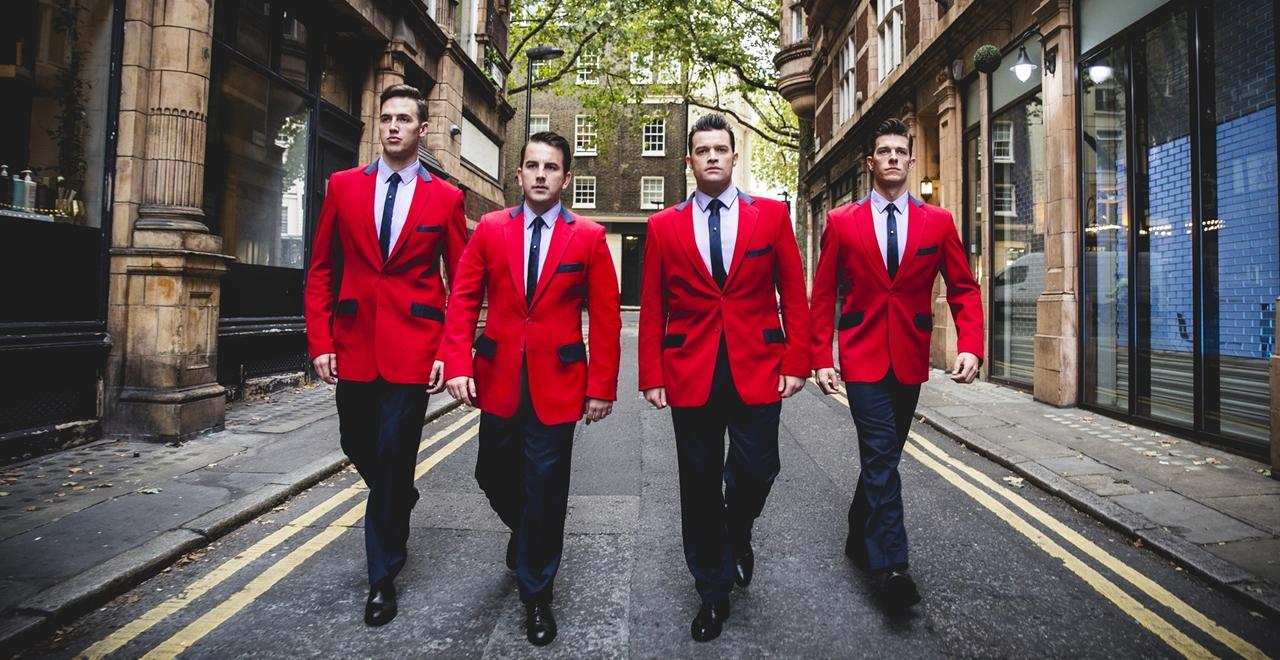 L to R Declan Egan, Michael Watson, Simon Bailey, Lewis Griffiths