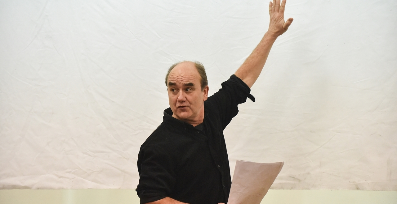 David Haig (Group Captain James Stagg). Photo by Robert Day
