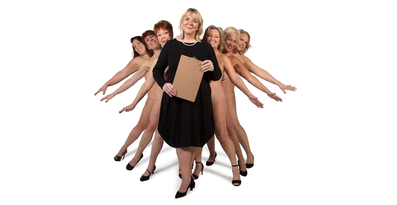 (L-R) Lorraine Bruce, Anna-Jane Casey, Ruth Madoc, Fern Britton, Rebecca Storm, Denise Welch & Sara Crowe.