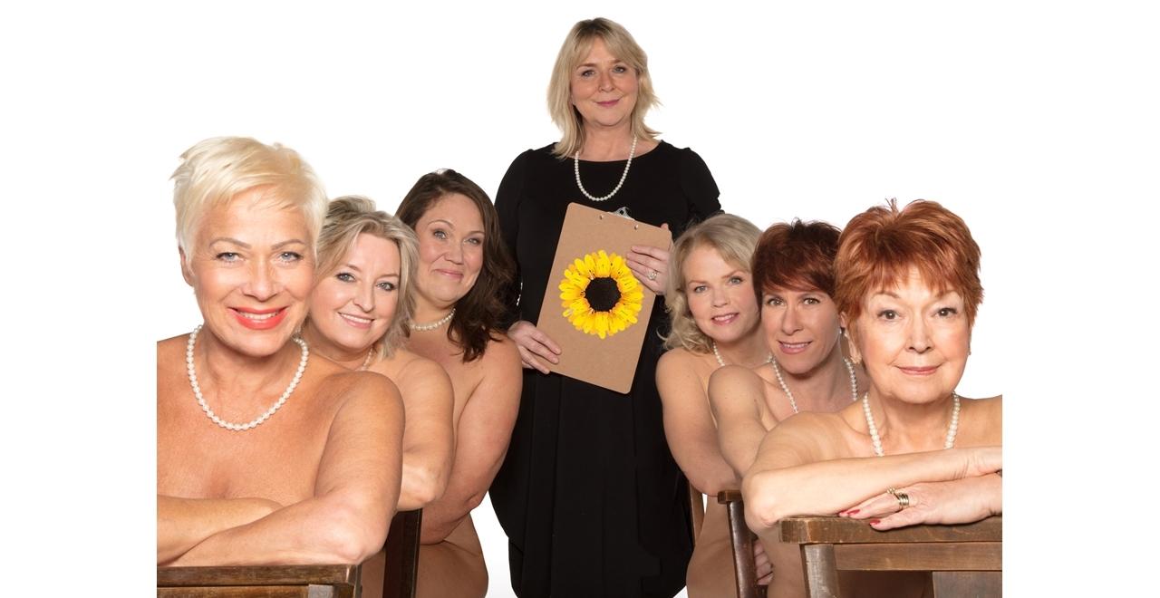 (L-R) Denise Welch, Rebecca Storm, Lorraine Bruce, Fern Britton, Sara Crowe, Anna-Jane Casey & Ruth Madoc.