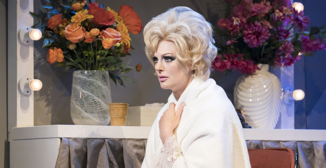 Katherine Kingsley as Dusty. Photo by Johan Persson