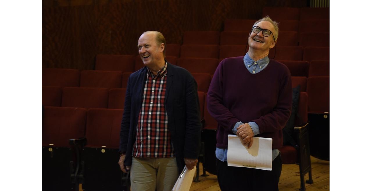 Ade Edmundson and Nigel Planer.