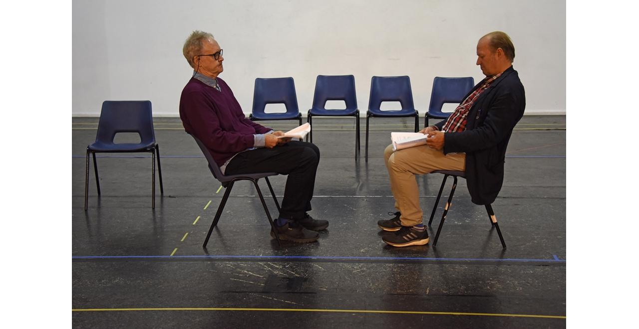 Nigel Planer and Ade Edmundson