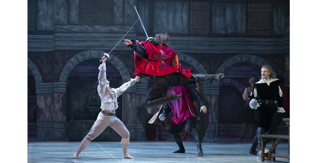 Northern Ballet's The Three Musketeers