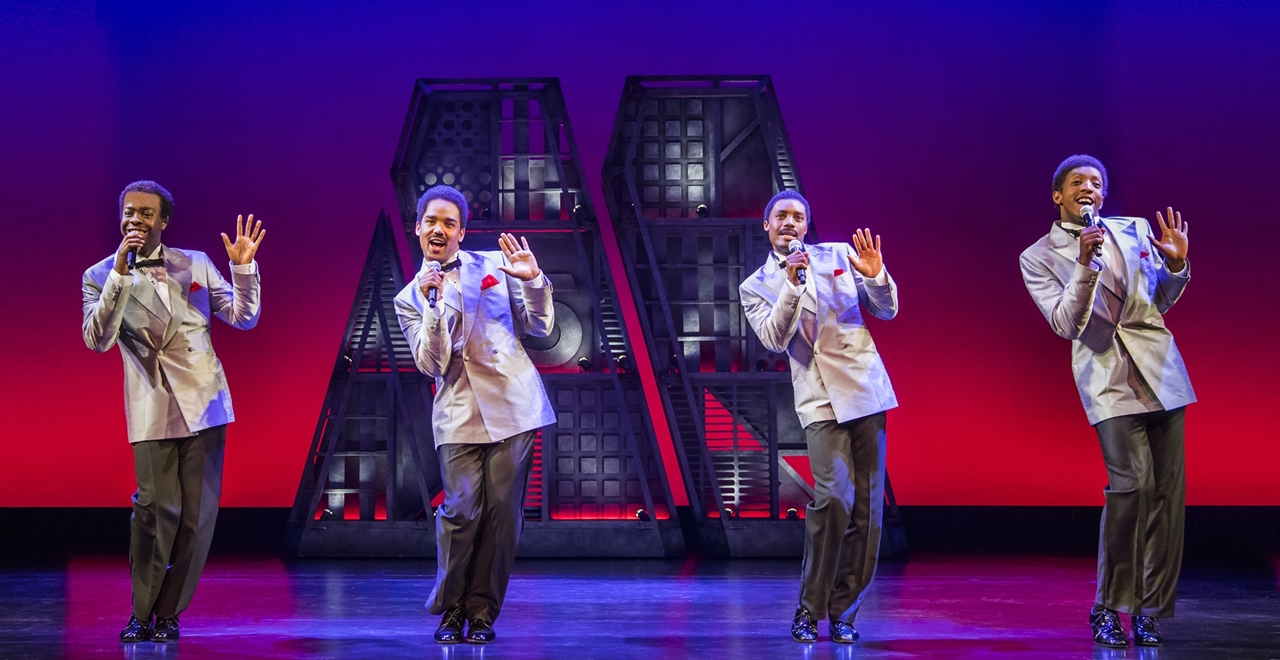 Motown™ The Musical. The Four Tops. Photo by Tristram Kenton