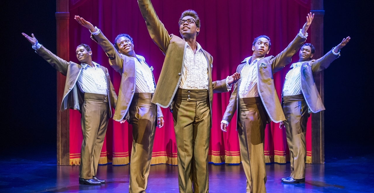 Motown™ The Musical. The Temptations. Photo by Tristram Kenton