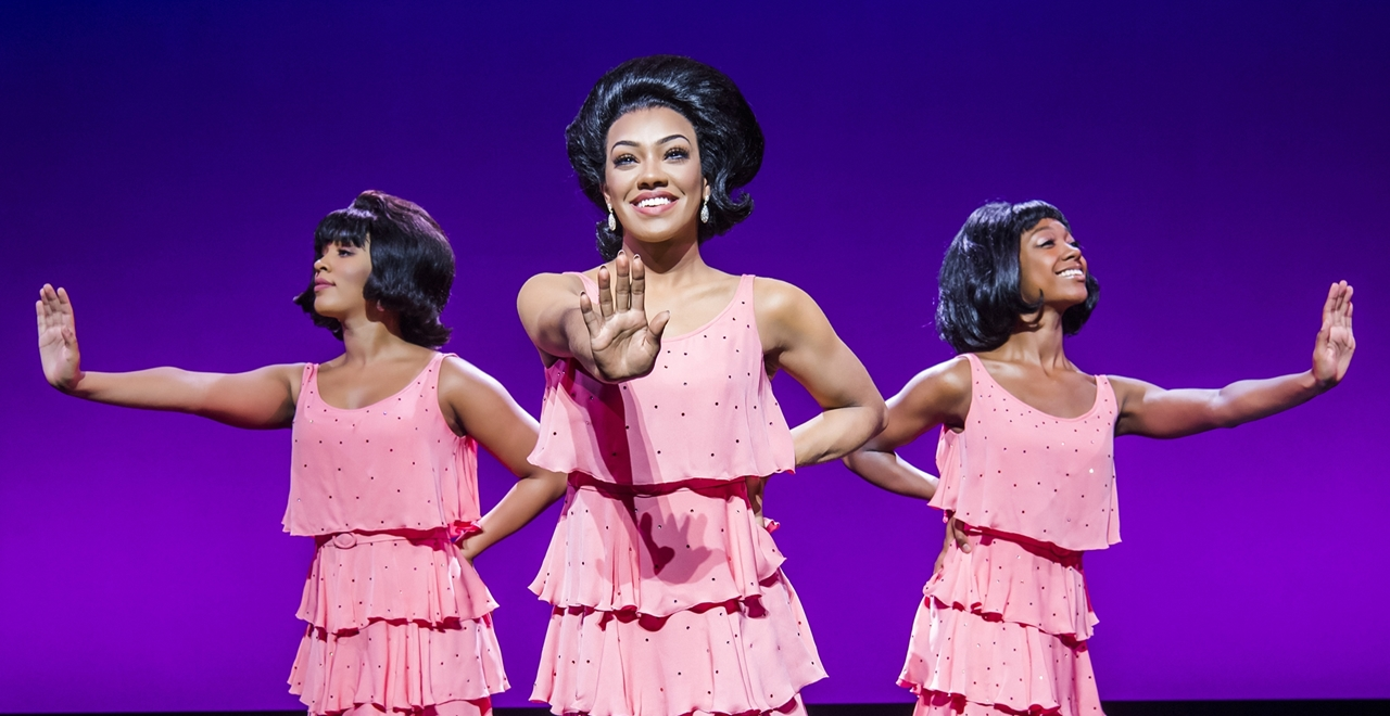 Motown™ The Musical. Diana Ross and The Supremes. Photo by Tristram Kenton