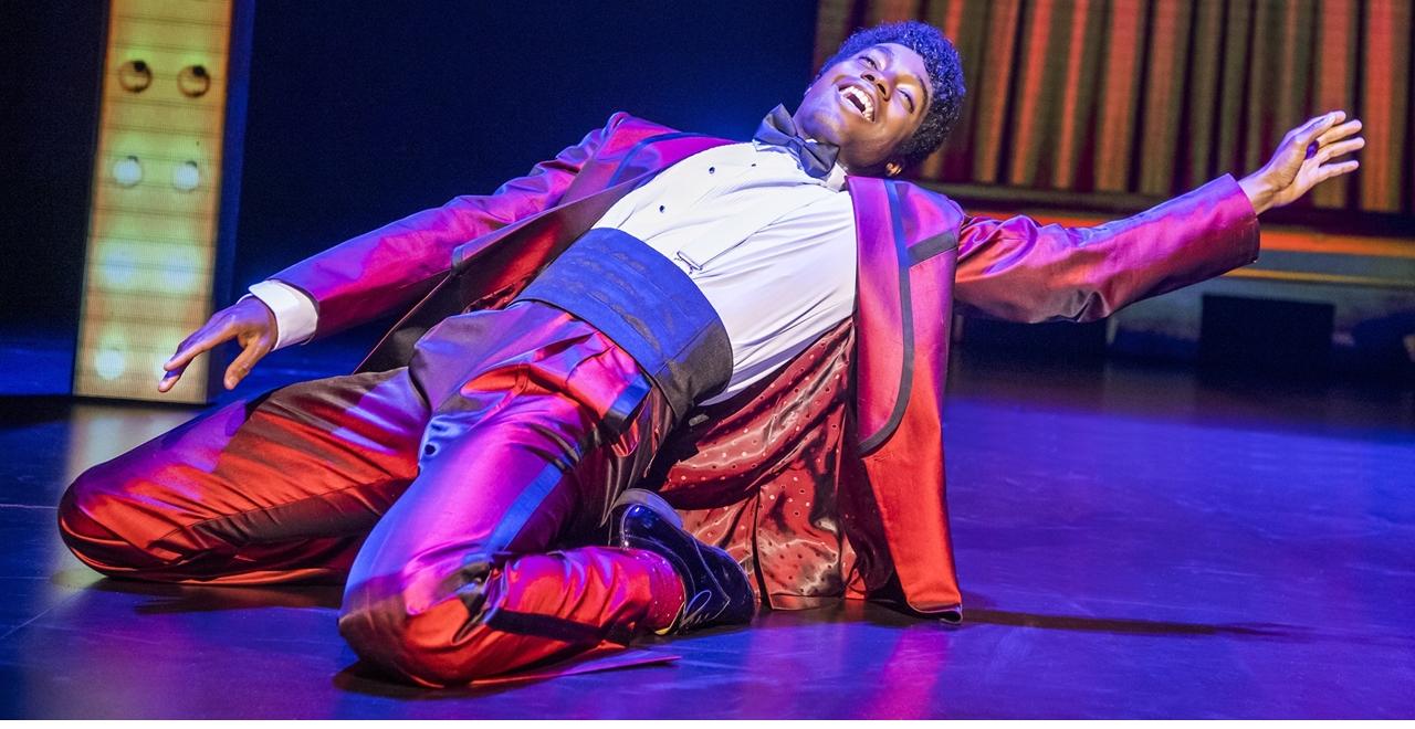 Motown™ The Musical. Jacky Wilson. Photo by Tristram Kenton