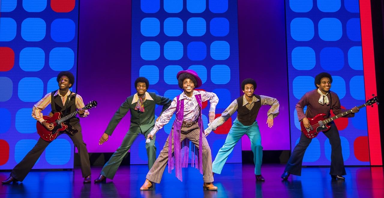 Motown™ The Musical. The Jackson Five. Photo by Tristram Kenton