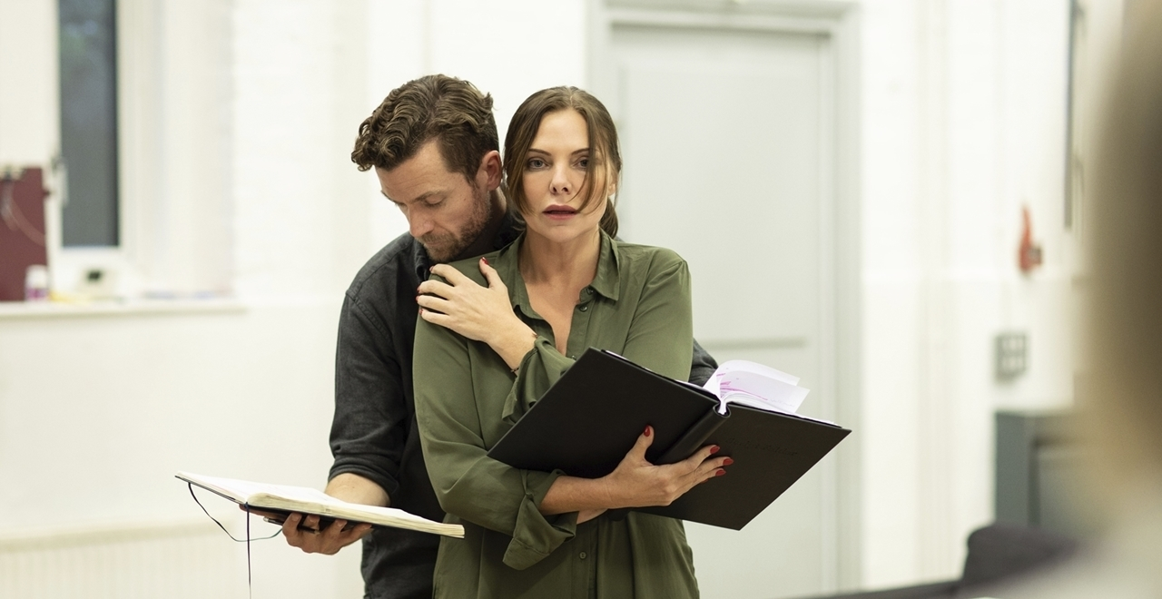 The Girl on the Train - in rehearsal
