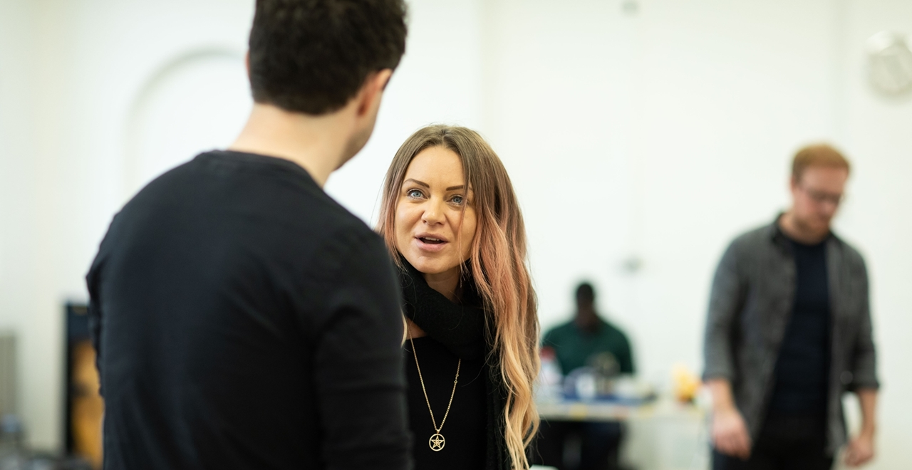 The House on Cold Hill - in rehearsal
