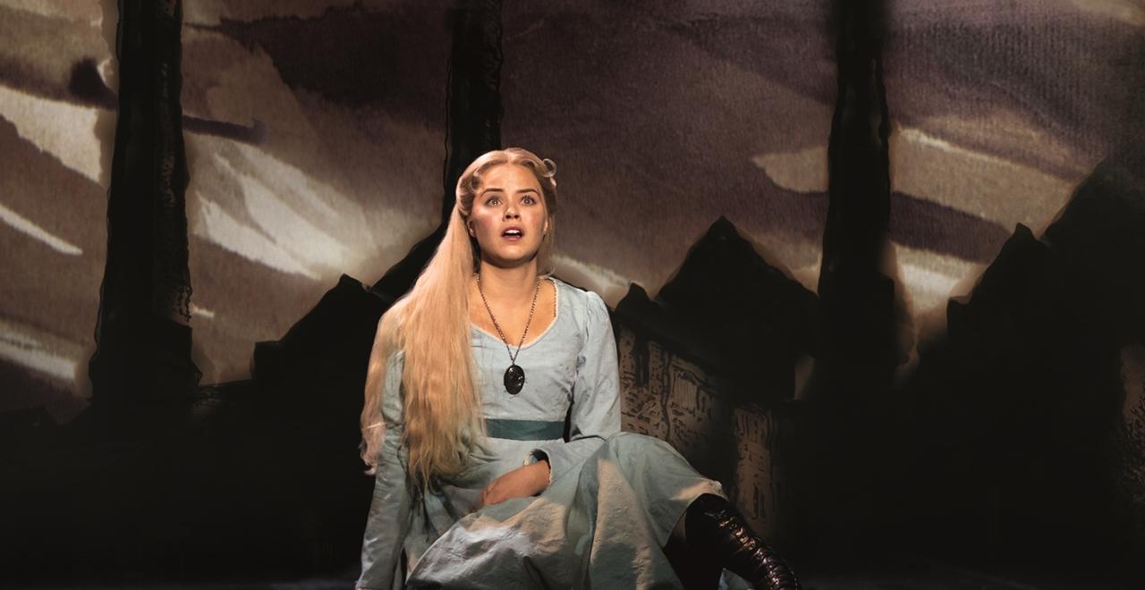 Les Misérables. Katie Hall 'Fantine'