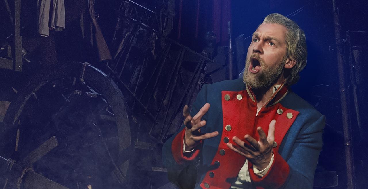 Les Misérables. Killian Donnelly 'Jean Valjean'