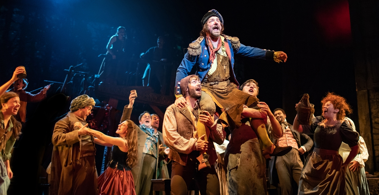 Les Misérables. Martin Ball 'Thenardier' and Company