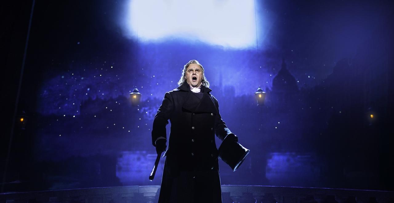 Les Misérables. Nic Greenshields 'Javert'