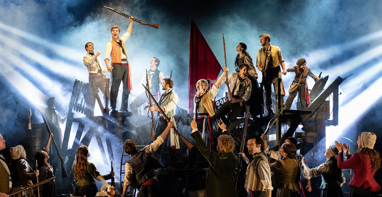 Les Misérables. The Barricade