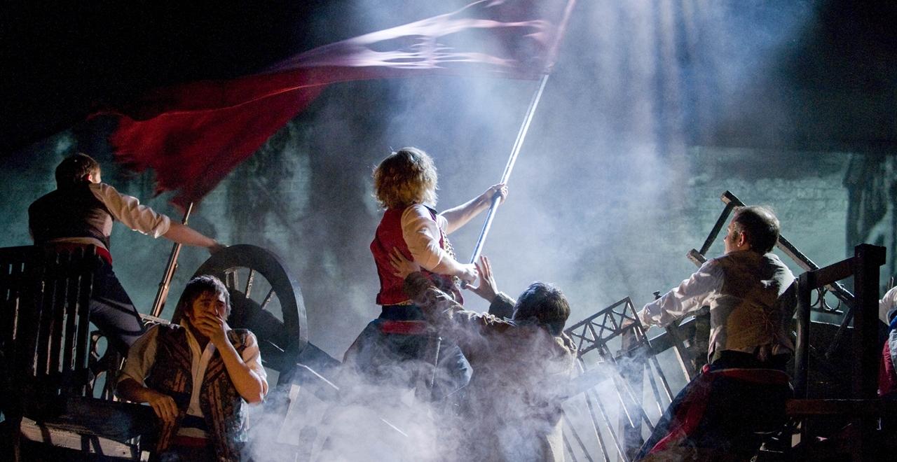 Les Misérables. The Barricade