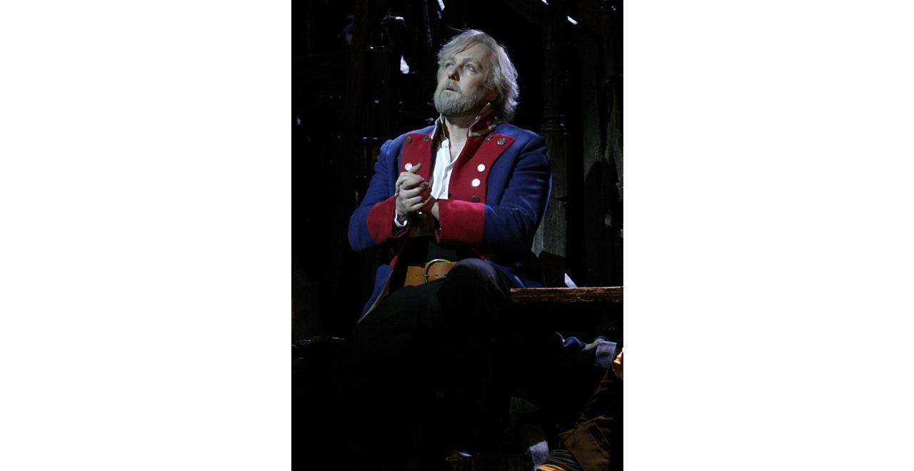 John Owen-Jones Les Misérables, 25th Anniversary Production, John Owen-Jones as Jean Valjean. Photo Catherine Ashmore © Cameron Mackintosh Ltd