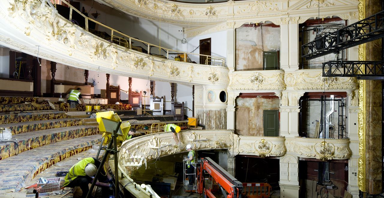 Theatre Royal restoration