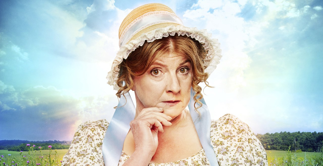Felicity Montagu as Mrs. Bennet