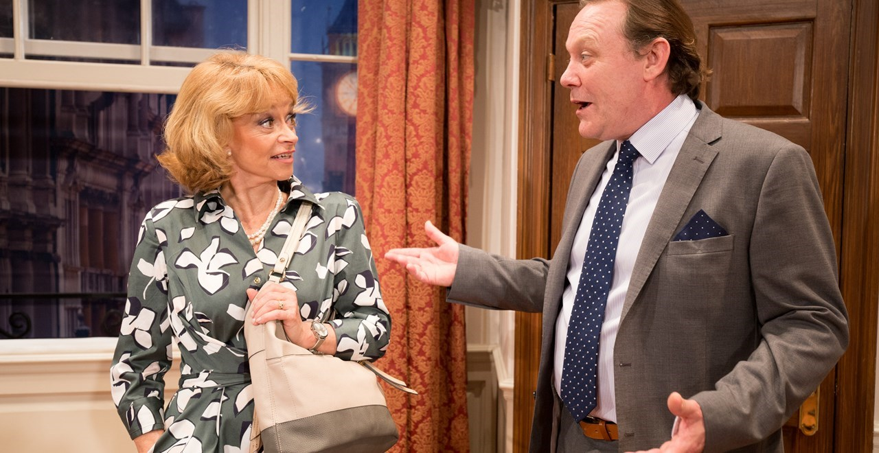 Pamela Willey (Sue Holderness) and Richard Willey (Jeff Harmer) cDarren Bell