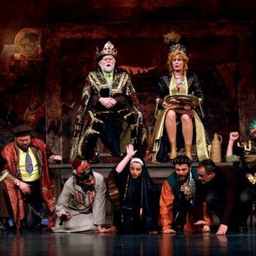 Hamlet u Selu Mrduša Donja ili Hamlet zna što narod ne zna, Theater Akzent, Wien
