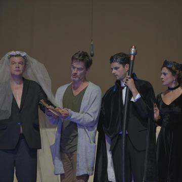 Hamlet – Gastspiel des JDP - Belgrad/Serbien, Volkstheater, Wien