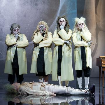 Der eingebildete Kranke, Burgtheater, Wien