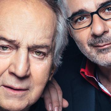 Otto Schenk & Michael Niavarani, Burgtheater, Wien