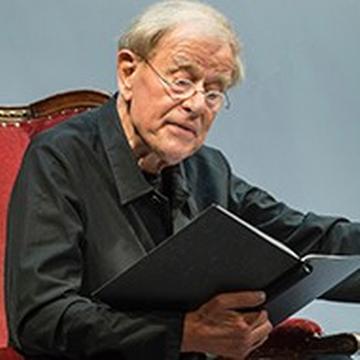 Claus Peymann liest: Holzfällen. Eine Erregung, Akademietheater, Wien