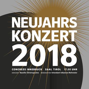 Neujahrskonzert, Congress Innsbruck, Innsbruck